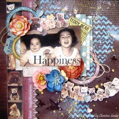 Happiness Layout - Teddy Bear's Picnic Collection