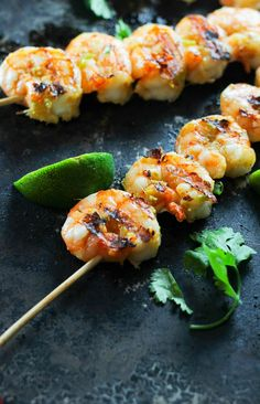 An easy and versatile marinade that comes together in minutes and packs a huge punch of umami flavor! Use it as a marinade on shrimp, fish or even as a dipping oil for lobster and shrimp. Best Grilled Shrimp Recipe, Spicy Grilled Shrimp, Grilled Chicken Tacos, Grilled Meat, Grilled Fish, Pork Rib Recipes, Grilling Recipes, Seafood Recipes, Kabob Recipes