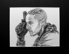 theo rossi Wallpaper | Theo Rossi as Juice Ortiz by FamousFutureArtist