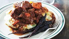 Slow-Cooked Beef in Stout