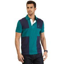 Slim Fit Maritime Pieced Deck Polo Shirt - Emerald Yard