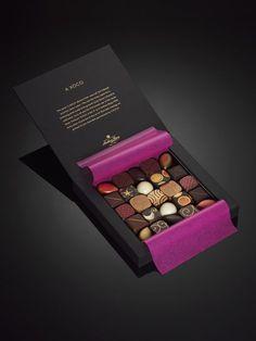 Chocolate World, Luxury Chocolate, Chocolate Brands, Artisan Chocolate, Chocolate Sweets, Chocolate Gifts, Chocolate Lovers, Cake Packaging, Food Packaging Design