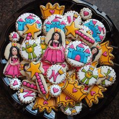 Nevaeh's Princess Platter by SweetSugarBelle, via Flickr