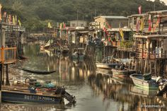 Tai O village. Hong Kong