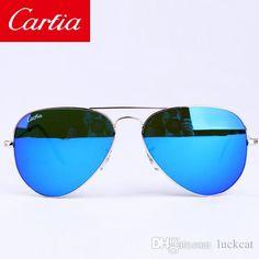 0b4f4ca9cd1 Carfia 58mm mirror gradient sunglasses 2017 pilot glasses for men brand  designer sunglasses 58mm sun glasses with original box