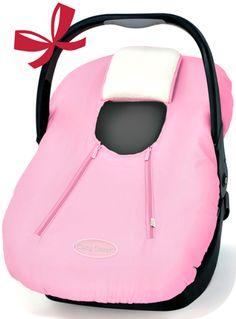 Cozy cover color rosado, ideal para salir con tu bebita aislada del frió.