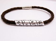 Hey, I found this really awesome Etsy listing at https://www.etsy.com/listing/204751072/secret-message-spiral-custom-bracelet
