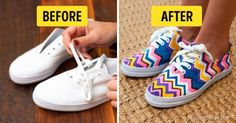 Ten simple ways togive old summer shoes anew life