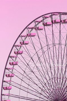 Pink Ferris Wheel Photography Whimsical Carnival Art Girls Room/Nursery Wall Fine Art 11x14 Vertical Print State Fair Ride Fucshia Decor on Etsy, £27.59