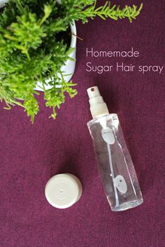 DIY Natural Sugar Hair spray