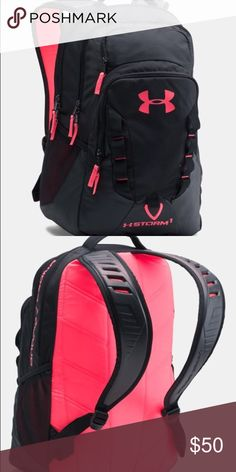 2d3af37736 under armor storm backpack black and pink book bag! I used it for one year
