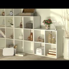 8cf225d24c18 White Squares 6 & 4Cubes Storage Unit Shelves in NG24 Sherwood for £20.00 -  Shpock