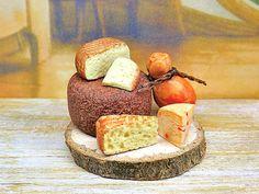 Miniatura casa delle bambole tagliere di formaggi di PiccoliSpazi
