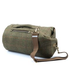 Yorkshire Tweed  Red Stripe  mittlere Tombag Sporttasche von Tombag
