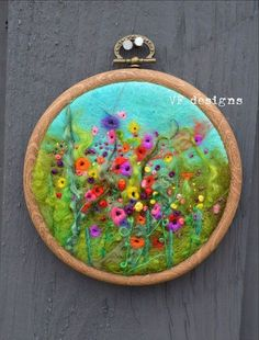 Image result for ideas for needle felted pictures