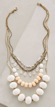 Layered Hemisphere Necklace