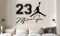 Wall Stickers Sports, 3d Wall Decals, Vinyl Decals, Basketball Bedroom, Basketball Hoop, Jordan Logo Wallpaper, Wall Paint Patterns, Vinyl For Cars, Shoe Room