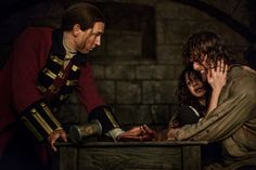 New pics of Sam Heughan, Caitriona Balfe and Tobias Menzies in 1×15 of Outlander | Outlander Online