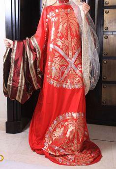 Traditional fashion from Saudi Arabia