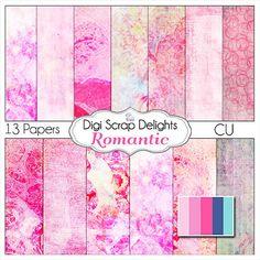 Digital Scrapbooking: Romantic Digital by DigiScrapDelights