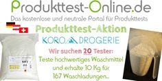Waschmittel von KoRo Drogerie | Produkttest