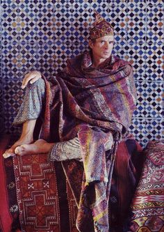 The famous ballet dancer Rudolph Nureyev was a great collector of antique textiles and carpets.