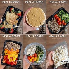 Breaking down 's meal prep to a T! Over time you'll start to know off hand what a prep will do for your daily allowance. (And also how destructive some foods can be to your goals) - ALL-IN-ONE TOOL & GUIDES - Build Custom Plans & Set Nutrition Foods Full Of Fiber, High Fiber Foods, Manger Healthy, Meal Prep Plans, 21 Day Fix Meal Plan, Easy Diet Plan, Macro Meals, Diet Recipes, College Food Recipes