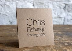Letterpressed cd sleeves - possible packaging option