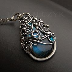 The Patronus Necklace by Iza Malczyk by IzaMalczyk on Etsy