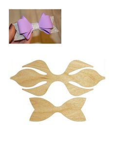 Paps E Moldes De Artesanato - Diy Crafts - Marecipe - На волосы - Hair Ribbons, Diy Hair Bows, Making Hair Bows, Diy Bow, Bow Making, Ribbon Hair, Bow Tutorial, Flower Tutorial, Bow Template