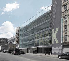 Delancey and Essex Municipal Parking Garage / Michielli + Wyetzner Architects | ArchDaily