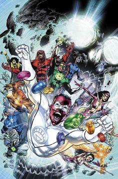 Green Lantern - Blackest Night by Ivan Reis and Oclair Albert White Lantern Corps, White Lanterns, Dc Comic Books, Comic Book Covers, Comic Room, Green Lantern Blackest Night, Dc Comics, Green Lantern Comics, Green Lantern Hal Jordan
