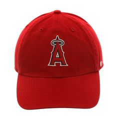 new arrival 11565 33254 47 Brand Cleanup Los Angeles Angels Game Adjustable Hat - Red,   28.00 Dena,