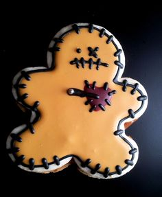 This cookie looks awesome! If I'm ever in the mood for vengeance... (The Voodoo Cookie)