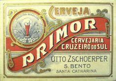 Cervejaria Otto Zschorper - Cerveja Primor (São Bento/SC)
