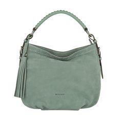 cool Bogner Bogner Tasche - Chelsea Baby Aisha Suede Shoulder Bag Jade - in grün - Umhängetasche für Damen