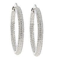 Diamantøreringer 2,30 carat - Diamantkreoler 2,30ct tw/vs Personalized Items