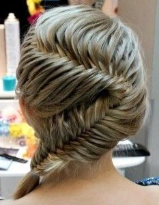 Really cute braid for short hair