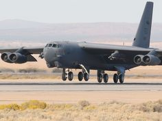 B-52 Landing