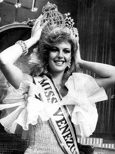 Irene Sáez. Miss Venezuela 1981 y Miss Universo 1981