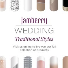 Who do you know that is having a spring or summer wedding? www.maciandme.jamberrynails.net