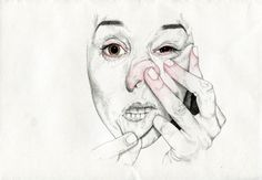 distort by Analisa Aza, via Behance