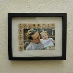 Daddy daughter diy photo