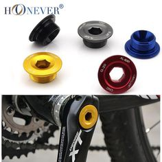 Cheap bolt cap screw, Buy Quality screw press directly from China screw spike Suppliers: Cheap Bottom Bracket Chainwheel BB Cranks Cover Cups Arm Bolt CNC MTB Crankset Fixing Bolt Screw for Deore/SLX/XT Cnc, Bike Crank Arm, G 20, Bike Pedals, Bicycle Parts, Bottom Bracket, Bicycle Components, Cool Bicycles, Grey And Gold