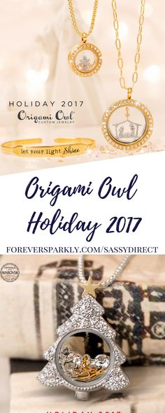 Origami Owl Holiday Collection 2017 is almost here! Available October 18th to purchase, the Origami Owl Holiday Collection includes a Christmas Tree Locket and new Holiday themed charms! Click to read all the details!