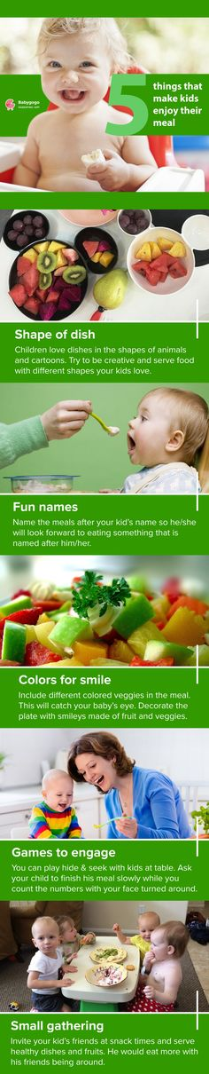 Are you dealing with a baby who won't eat? Try these things that make kids enjoy their meal. #introducing #Babygogo #baby #food #toddler #parenting #newmom #motherhood