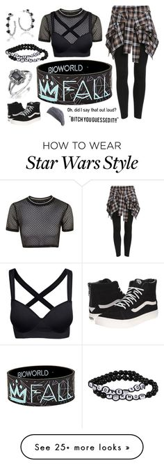"""""""Did I Say That Out Loud?"""" by headphones-girl on Polyvore featuring Topshop, Tacori, Vans and Jigsaw"""
