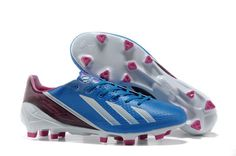 huge discount 5b537 fa66a Adidas F50 Adizero TRX FG Messi Limited Soccer Cleats - Blue White Pink  Pink Soccer Cleats