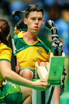 Daniel Michel has travelled more than 13,000 kilometres from his hometown of Sydney to compete in the 2016 Rio Paralympics Games, making him the first boccia player to don green and gold in sixteen years