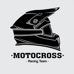 Design logo helmets motocross vector image on VectorStock Motocross Logo, Motocross Helmets, Tiger Tattoo Design, Mandala Tattoo Design, Design Logo, Vector Design, Monster Energy, Triumph Motorcycles, Traditional Tattoo Vector